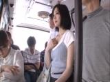 鈴村あいり バスで超美人お姉さんが痴漢されちゃう♪