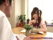 勉強していたらいつの間にかセックスしちゃう女子高生あいりみく
