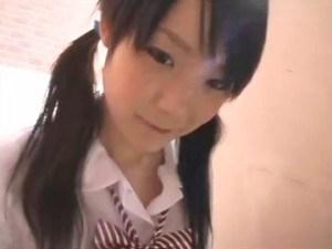 ゆるふわのお下げ髪の毛がキャワワ美術部のJKとカラオケBOXでハメドリ