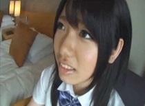 有紀かな 制服女子校生をホテルに連れ込んで2人きりのハメ撮り