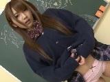 むっちりな巨乳美少女のコスプレ 神咲詩織
