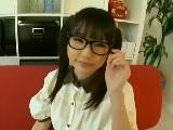 可愛い眼鏡女子のフェラ