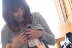 「凄いね…」SSS級スレンダー美女が童貞君のセンズリ鑑賞!