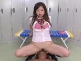 飯田せいこ 顔面騎乗でグチョグチョマンマンをクンニ奉仕させる女子校生