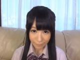小西まりえ 綺麗な黒髪をしたパイパン女子のオマ○コおっぴろげオナニー