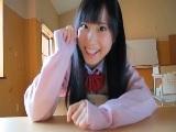 学校にて、素人女性の無料H動画。学校で会った好きな女子と夢の中で・・・