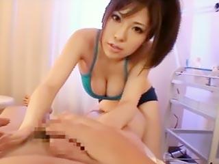 浅乃ハルミ エステ店でエッチな巨乳お姉さんと本番行為
