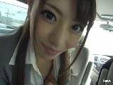 関西弁のOL彼女を昼休憩中に呼び出し車の中でラブラブフェラ抜き♪