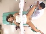 産婦人科で媚薬を塗られ敏感になったギャルがハメられイキまくる