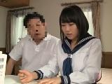家庭教師にハメられちゃった制服女子