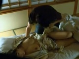 社員旅行で夜這いされ寝取られた巨乳人妻