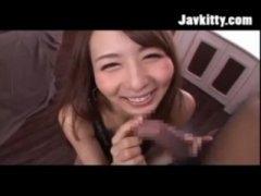 ぐうかわ過ぎる希崎ジェシカが主観で微笑みながらオーラルセックスする天国