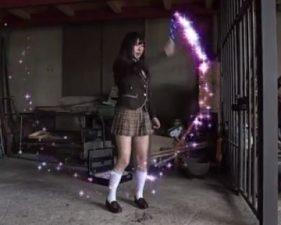 ギャルの無料H動画。魔法の杖を手に入れたドジっ娘通学服今時ギャルが悪魔獣の餌食に!