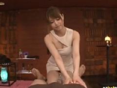 マッサージをしにきたらなんと吉沢明歩ちゃんという最高の美女がいた!