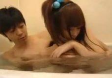 激カワ妹君ちゃんとお浴室に入ってハメちゃったイケメン風お義兄さん