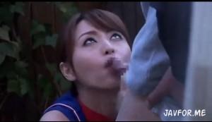 吉沢明歩 美人過ぎるテニスコーチがチ〇ポにご奉仕からのおセックス!