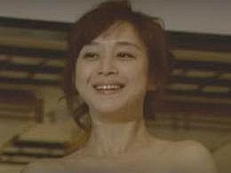 【お宝】相田翔子 男の前でバスローブを脱いで裸体を見せつける