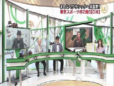 森香澄アナ ミニスカ▼ゾーン!!【GIF動画あり】