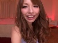 歌舞伎町で働く現役巨乳キャバ嬢とアフターでセックス