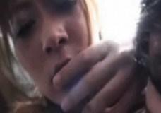 さとう遥希 巨乳美女がバス車内で遭遇したチカン魔の指姦でふんだんソルトFUCK