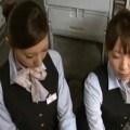 CAのハンドサービスサロンオリジナルサービスが売りの航空会社★折原あみか 安藤美沙