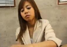 プレイガール女子スタッフが会社で被虐情欲な後輩に逆セクシャルハラスメントしまくるwww